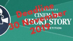 Deadline 30 November 2019